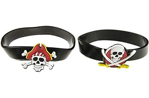 irat Seeräuber Piraten Party Mitgebsel Kindergeburtstag (Piraten Armbänder)