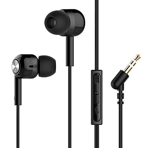 Mpow Auriculares con Cable y Micrófono In