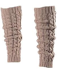 I LOVE DIY Guêtre Jambières Legging Chausettes Hiver Chaud Tressé Tricot  Femme b2c327126cb