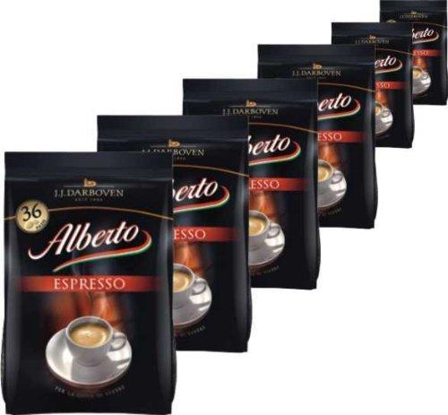 Alberto Espresso Pads 6x36