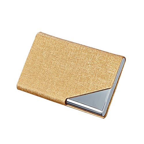 Características del producto -Tamaño: largo x ancho x alto: 9,5 x 6,5 x 2 cm. Diseño elegante y de alta calidad. Fácil de manejar, transportar y almacenar. Diseño profesional para guardar tarjetas. Práctico y práctico. - Resistente, duradero, regalo ...