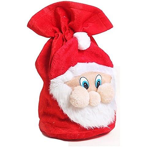 Cinta Decoración Franela Papá Noel Patrón Regalo De Navidad Bolsa De (37cm*55cm)