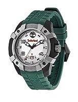 Reloj Timberland TBL.13326JPBU/13 de cuarzo para hombre con correa de silicona, color verde de Timberland