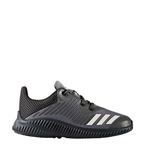 adidas Fortarun K, Chaussures de Running Compétition mixte enfant gris/blanc/gris foncé