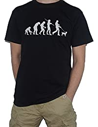 Evolution Jack Russell T-Shirt - Ape to Man / Dog by My Cup Of Tee
