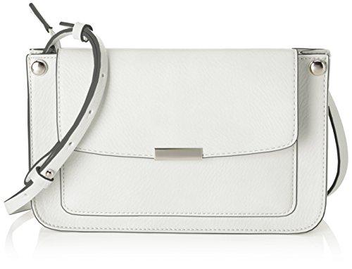Esprit Accessoires Damen 058ea1o005 Umhängetasche, Weiß (Off White), 5x14,5x24 cm