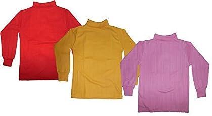 Mahi Fashion Baby Kids Winter High Neck Sweater Combo of 3