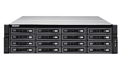 """QNAP TS-EC1680U R2 Ethernet Bastidor (3U) Negro, Gris NAS - Unidad Raid (Unidad de Disco Duro, SSD, Serial ATA II,Serial ATA III, 2.5/3.5"""", 0, 1, 5, 6"""
