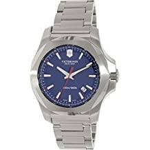 Victorinox Swiss Army–Reloj de pulsera para hombre i.n.o.x. analógico de cuarzo Acero inoxidable 241724.1