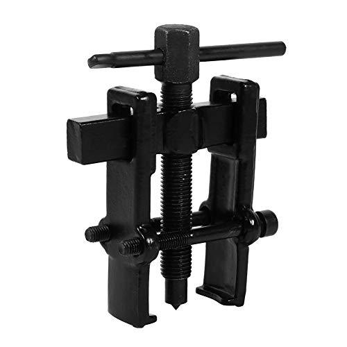 Keenso Kohlenstoffstahl Einstellbare Riemenscheibe Entferner Hand Tool Zwei Kiefer Pilot Bearing Abzieher Remover Werkzeug Kit(2.5 Zoll(35×45))