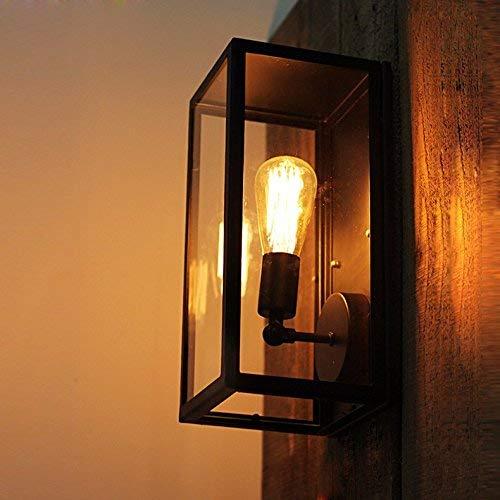 QSM Moderne minimalistische Innenwand-Licht-Befestigung,  Wand-Lampen-Schlafzimmer-Studie-Heller Plater - Taschen-Form-Wand-Lampe,