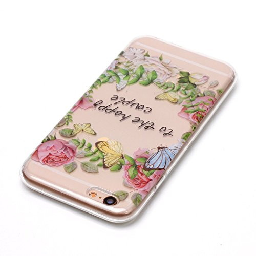 "Coque pour iPhone 6S / iPhone 6 , IJIA Transparent Hibou TPU Doux Silicone Bumper Case Cover Shell Housse Etui pour Apple iPhone 6S / iPhone 6 (4.7"") XS78"