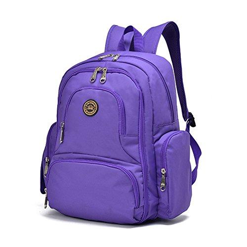 YuHan Baby Wickeltasche Reisen Rucksack Handtasche, großes Fassungsvermögen, Isolierung, Passform für Kinderwagen, Windelrucksack (Slipknot Reißverschluss)