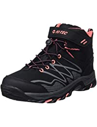 Hi-Tec Blackout Mid Waterproof Junior Girls, Botas de Senderismo para Niñas