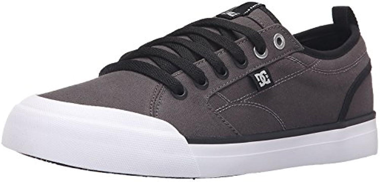 DC Men'S Evan Smith TX Skate Shoe, Gris/Negro, 41 D(M) EU/7.5 D(M) UK