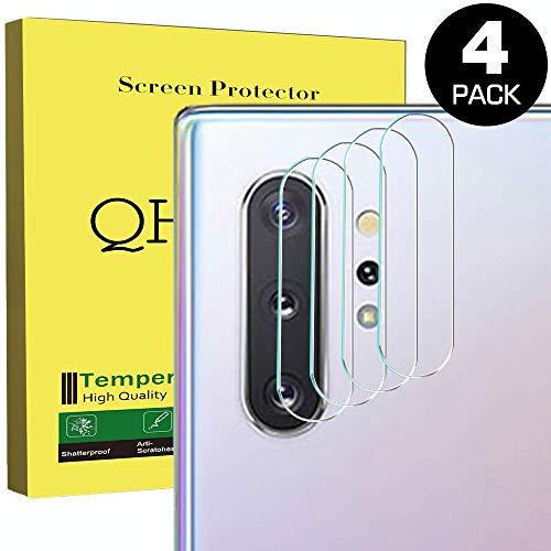 QHOHQ [4-Pack] Protector Pantalla cámara Samsung