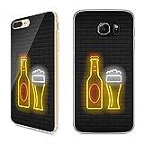 Premium Handyhülle 'Bier' für Apple iPhone - Silikon | Beer | Life, Handymodell:Apple iPhone 8, Hüllendesign:Design 5 | Silikon Klar