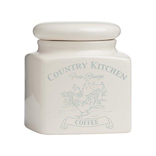 Premier Housewares Country Kitchen Caffè scatola metallica,