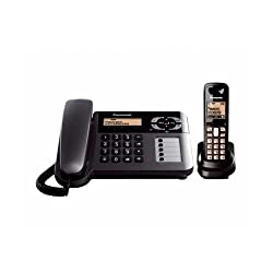 Panasonic KX-TG3651 Corded Cordless Combo Phone (Black)