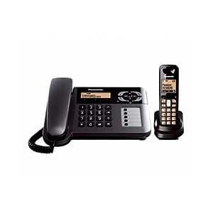 Panasonic KX-TG3651 Corded Cordless Combo Phone (Black)