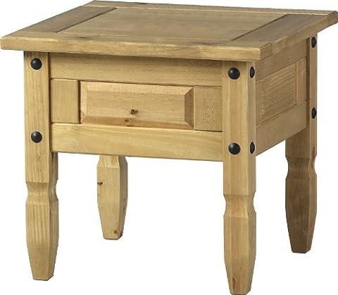 Corona Living Room Range - Mexican Pine Living Room Furniture - Full Living Room Range (Corona Lamp Table)