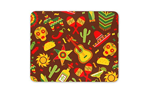 Mexican Fiesta Tequila-Kaktus Mauspad Pad - Pinata Spaß Computer-Geschenk # 14752