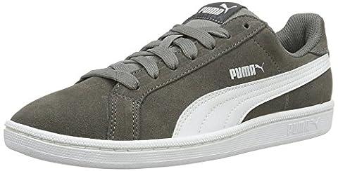 Puma Smash Sd, Sneakers Basses Mixte Adulte, Gris (Steel Gray-Puma White 14), 42 EU