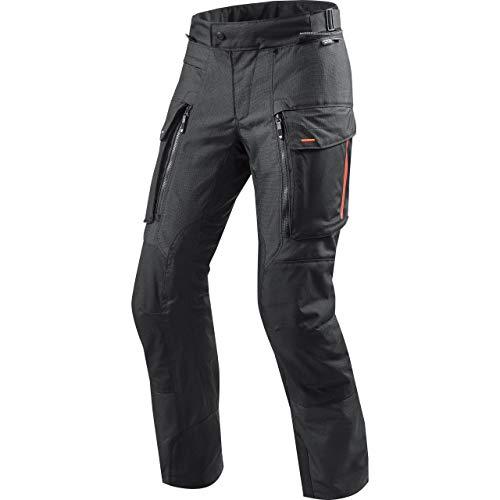 REV'IT! Motorradschutzhose, Motorradhose, Bikerhose Sand 3 Textilhose schwarz S, Herren, Enduro/Reiseenduro, Ganzjährig