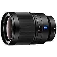 Sony SEL35F14Z - Objetivo gran angular de montura tipo E (distancia focal fija 35 mm, apertura f/1.4, diámetro filtro: 72mm, fotograma completo de 35 mm), negro