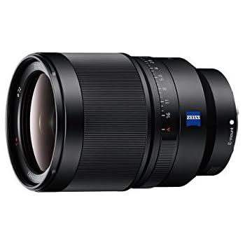 Sony SEL-35F14Z Zeiss Standard Objektiv (Festbrennweite, 35 mm, F1.4, Vollformat, geeignet für A7, A6000, A5100, A5000 und Nex Serien, E-Mount) schwarz