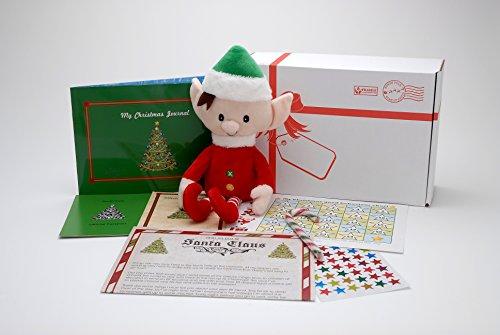 er-Set Weihnachten-Elf Tradition und Elfe auf dem Regal  ()