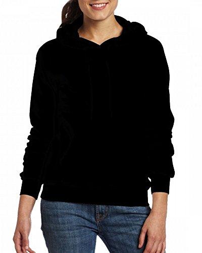 A cherub with cool glasses and an electric guitar Womens Hoodie Fleece Custom Sweartshirts Black