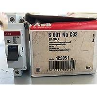 Magnetschalter 1P+N C32 32A 4500A 4.5KA ABB S091 NA EF 685 1