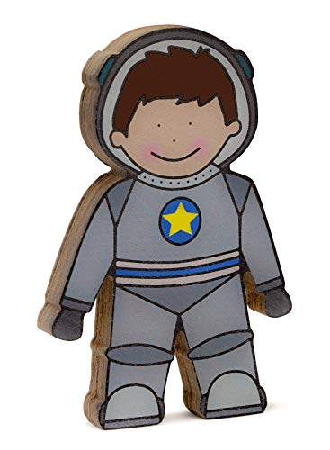 Storklings Raumfahrer, freistehendes Spielzeug für Regal, Dekoration, Weltall-Regalfigur - für Kinder