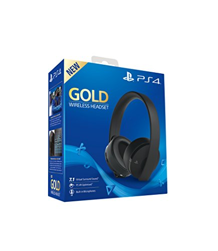 Sony - Gaming Headset Gold Wireless (PS4) (precio: 84,90€)