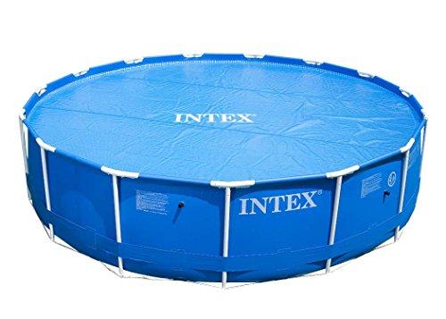 Intex Solarplane Pool-Abdeckung für Easy Set und Frame Pool Ø5,49m