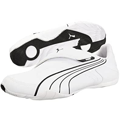 Puma Men's Jiyu V Nu White Casual Sneakers - 9.5UK/India (44EU)