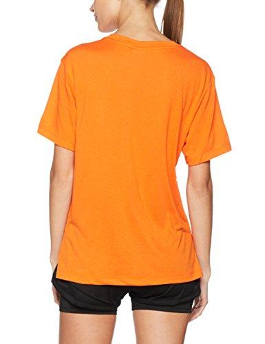 Puma Damen Classics Logo Tee Shirt Flame