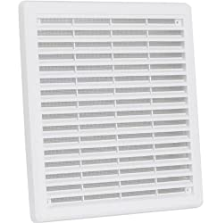 High Quality Air Vent Grille Cover 250 X 250mm (10x10inch) White Ventilation Cover