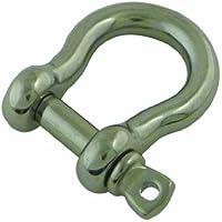 Viso MLI101NP - Grillo a forma di lira in acciaio inossidabile AISI 316