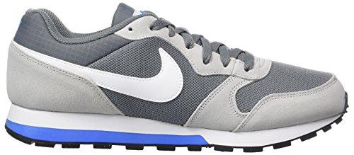 Nike Herren MD Runner 2 Laufschuhe Mehrfarbig (Cool Grey/White-Wolf Grey-Photo Blue)