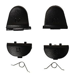 Timorn Ersatzteile L1 R1 L2 R2 Trigger-Tasten Teile mit Federn Kompatibel für Playstation PS 4 PS4-Controller Dualshock…