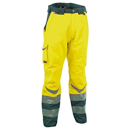 Cofra, 40-00v02500-46, alta visibilità pantaloni inverno sicuro v025-0-00 climatiche pantaloni da lavoro di protezione di colore giallo segnale gr. 46