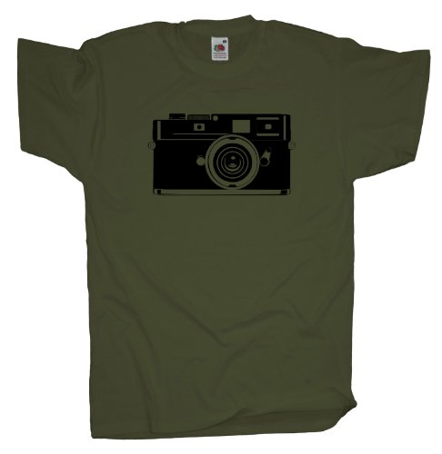 Ma2ca - Old Cam - T-Shirt Olive