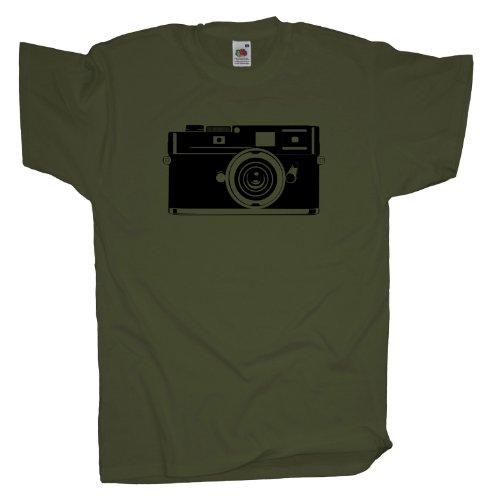 Ma2ca - Old Cam - T-Shirt Olive