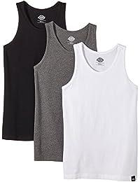 Dickies Herren Langarmshirt Streetwear Male T-Shirt Vest Multi Pack