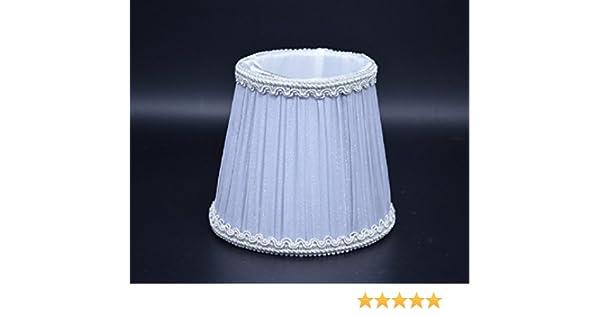 Mini Lampenschirme Für Kronleuchter ~ Lampenschirm stoff textil birne runde kerze kronleuchter