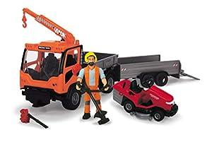 Dickie- Vehículo de Juguete con Figura y Accesorios, Multicolor (3838006)