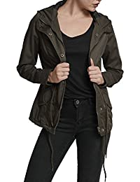 Urban Classics Damen Ladies Basic Cotton Parka