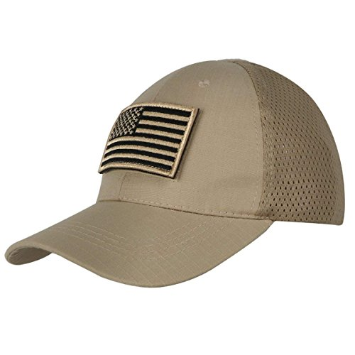 Shidan FM8 Herren Mesh Taktische Kappe Sport Baseball Militär Tarnung Sonne Hüte Kappe mit USA Flagge Patch/Wörter Patch -